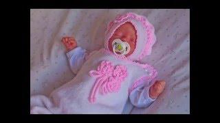 """Комплект для новорожденной девочки """" лапочка"""""""