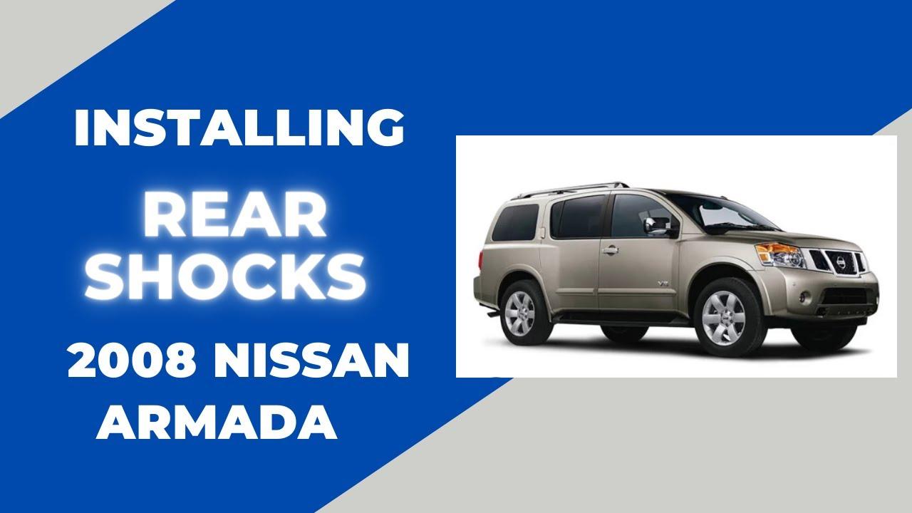 Pathfinder Engine Diagram Replacing Nissan Armada Rear Shocks Youtube