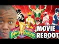 Mighty Morphin Power Rangers Movie Reboot Black Nerd