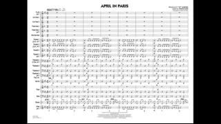 April in Paris arranged by Rick Stitzel