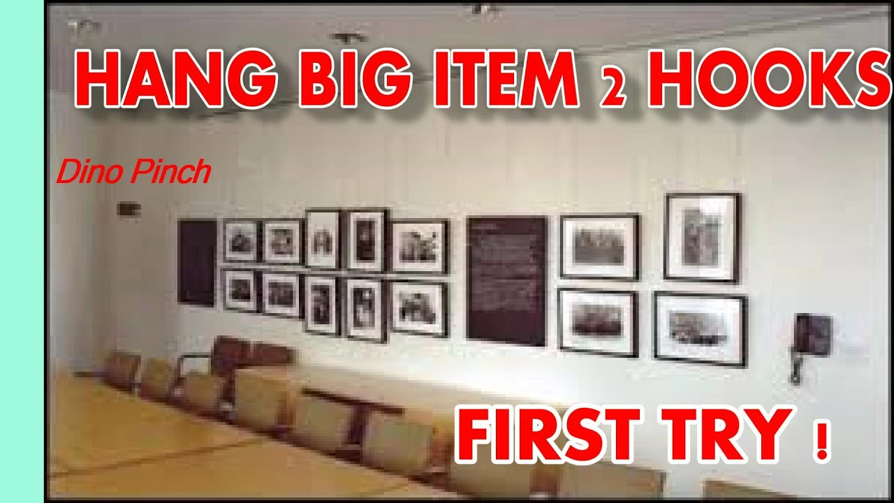 How to hang heavy pictures - How To Hang Heavy Pictures 47