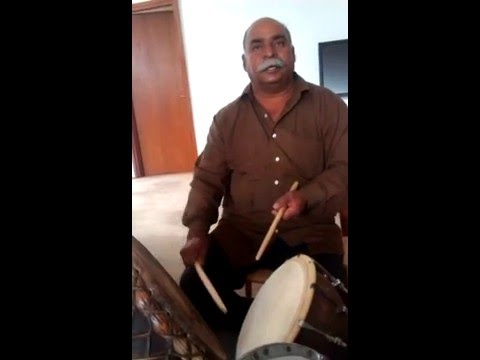 Master class with Nathu Lal Solanki on the Nagara Drums.
