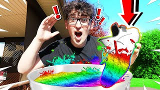 Download I HYDRO DIPPED MY YEEZY'S! *RAINBOW* Mp3 and Videos