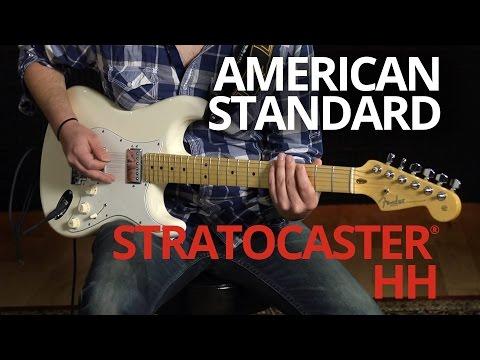 American Standard Stratocaster® HH Demo   Fender