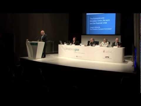The European Monetary Union, the euro, and the financial crisis - Joaquín Almunia - Barcelona GSE