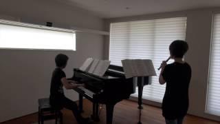 湘南乃風の「応援歌」を、リコーダーとピアノ用にアレンジしました。☆楽...