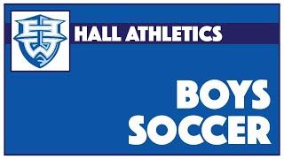 Hall Varsity Boys Soccer vs. Farmington - September 13, 2021