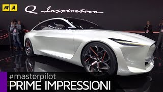 Infiniti Q Inspiration + motore VC Turbo 2.0 a compressione variabile! | Live from Detroit [ENGLISH]