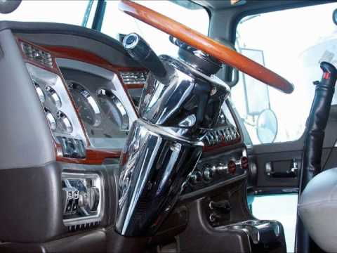 Kenworth Truck Interior 2 Youtube