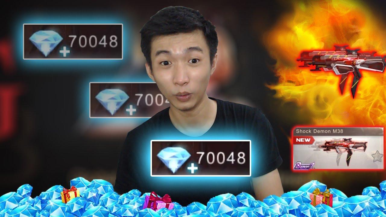 BAKAR 70000 DIAMONDS!! DEMI SHOCK DEMON M38 - Crisis Action