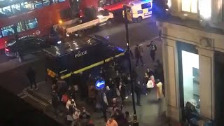 Oxford Circus incident: Police evacuate area amid reports of 'gunshots'
