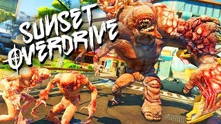 Sunset Overdrive Gameplay PC ULTRA SETTINGS - Game of Thrones
