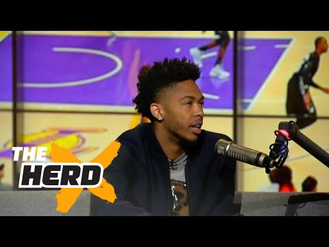 Brandon Ingram joins Colin to talk about coming off the bench and more | THE HERD (FULL INTERVIEW)