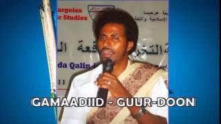 Gabayga Guurdoon iyo Abwaan Cabdiwaaxid Gamadiid Ka bogo