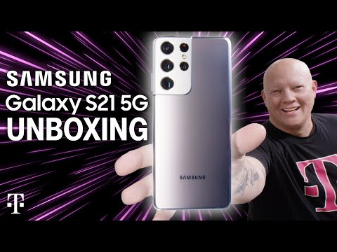NEW Samsung Galaxy S21 Ultra 5G, S21+ 5G, and S21 5G Unboxing | T-Mobile