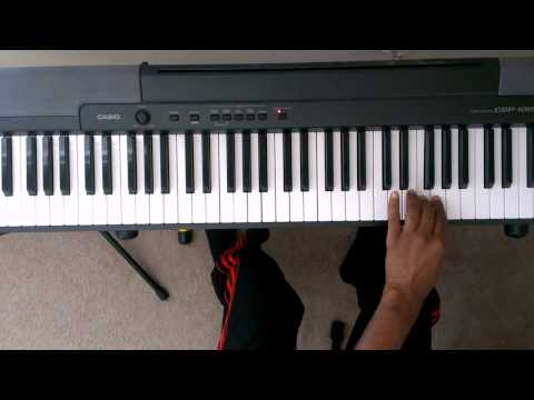 """A"" Minor Scale On Piano Four Octaves - Piano Scale Lessons (Right and Left hand)"