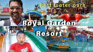 Cheapest Water Park | Royal Garden Resort| Water Park | Shot By Amit