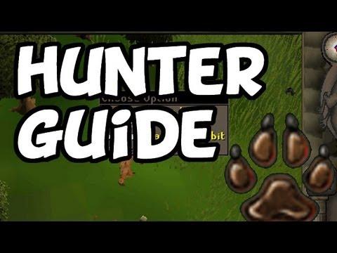 RuneScape 2007 - HUNTER Guide - Kickstart