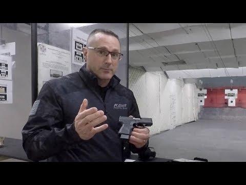 Kahr PM9 9 MM Pistol