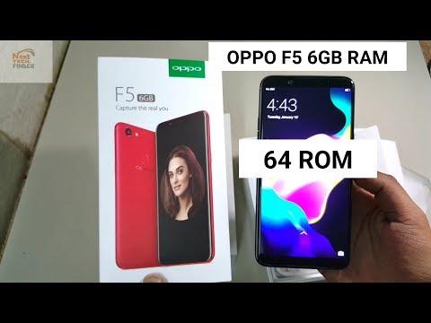 OPPO F5 6GB Ram 64GB Rom Unboxing | Oppo F5 6Gb Unboxing | Oppo F5