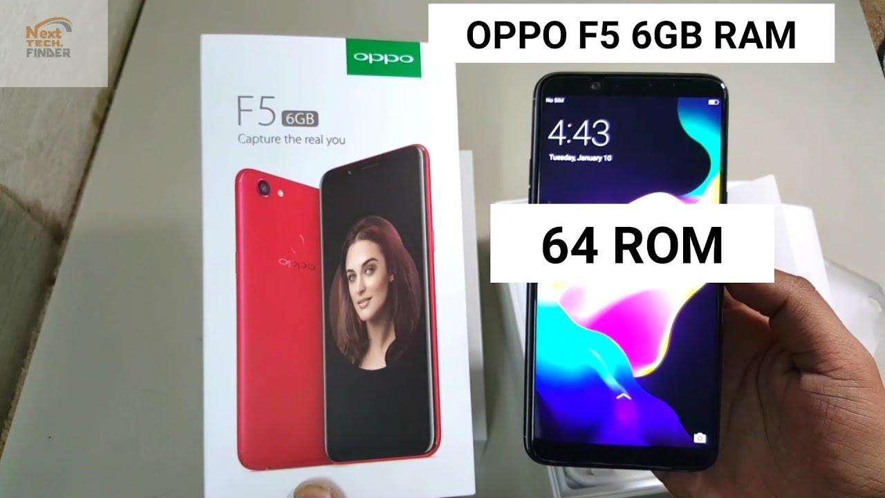 OPPO F5 6GB Ram 64GB Rom Unboxing | Oppo F5 6Gb Unboxing | Oppo F5 64Gb