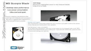 #1070 - Western Digital Scorpio Black 320GB 2.5