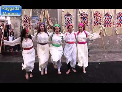 رقص ثلاث بنات مغربيات و جزائرية وفرنيسة في شوارع فرنسا رقص الركادة غاية في الرووعة thumbnail