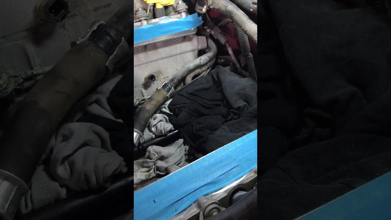 06 Mustang Gt Coolant Leak Under Intake Fix Youtube Subaru Diagram