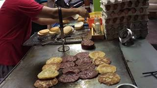 Popular Malaysian Street Burger