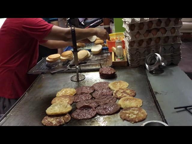 Popular Malaysian Street Burger