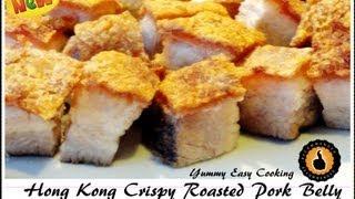 Hong Kong Crispy Roasted Pork Belly (siu Yuk) 脆皮燒肉 Josephine's Recipes Episode 55