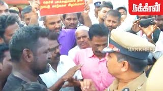 Youngsters Protest at merina beach for Jallikattu Issue