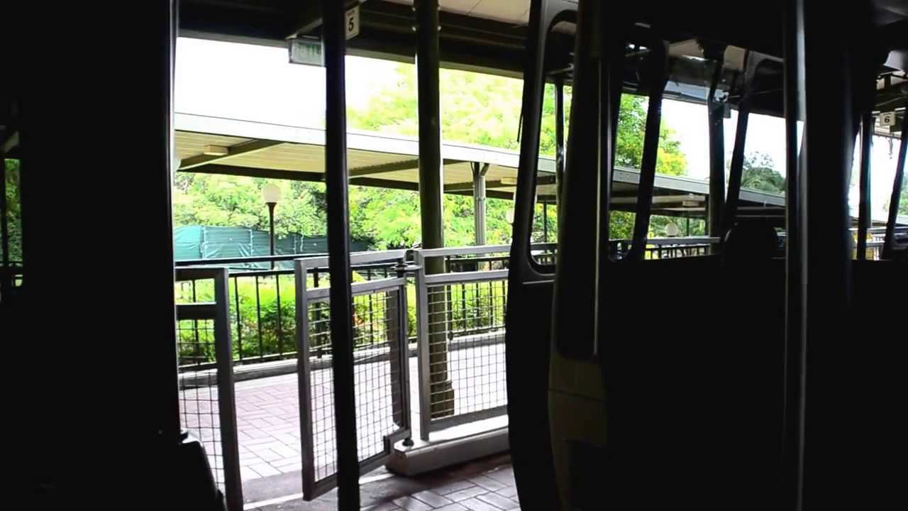 Disney Monorail  Please Stand Clear Of The Doors  & Disney Monorail