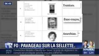 Pascal Pavageau sur la sellette après la découverte du fichage des cadres de FO