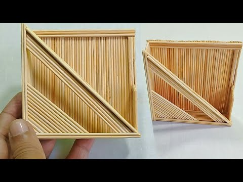 Arts And Crafts With Bamboo Sticks