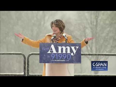 Senator Amy Klobuchar Presidential Campaign Announcement (C-SPAN)