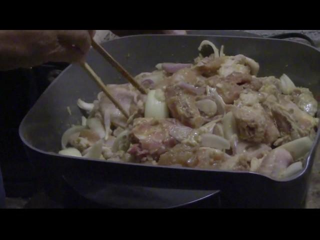 Quanh Bếp ở Mỹ: Gà Xào Sả Nước Cốt Dừa ở Mỹ (Coconut Lemongrass Chicken) - NVTC2