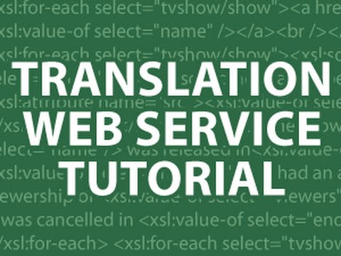 Translation Web Service MySQL UTF8