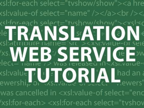 Translation Web Service MySQL UTF8