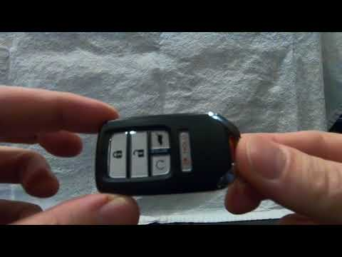 Changing the Key FOB Battery on the 2016 Honda Pilot. (or 2017, 2018 Civic, CR-V and Accord)