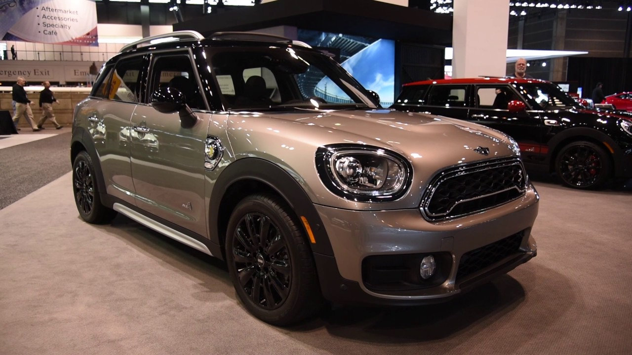 2018 Mini Cooper S E Countryman All4 First Look 2017 Chicago Auto Show You