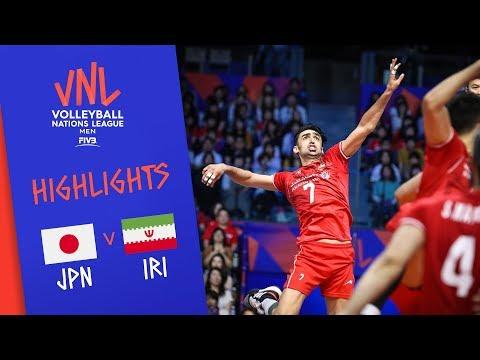JAPAN vs. IRAN - Highlights Men | Week 2 | Volleyball Nations League 2019