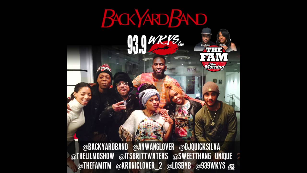 BYB - BackYard Band's WKYS Full Interview 2:9:16 - YouTube
