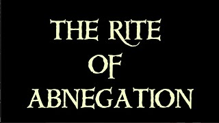 The Rite of Abnegation | A Thrilling Coming of Age Story & Young Adult Fantasy Series