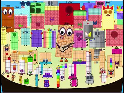 More people in the Numberblocks Band