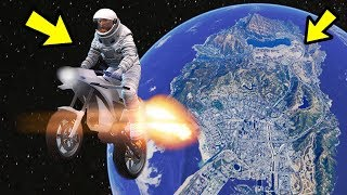 GTA 5 Online - 3 NEW GLITCHES & TRICKS (Fly Into Outer Space Glitch, Fast RP Glitch & Hiding Spot)