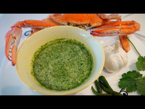 Seafood Dip Thai Style-Green Version น้ำจิ้มซีฟู๊ด|cook with Gui