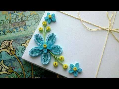 Quilling Flowers Tutorial: how to make Quilling flowers using a comb