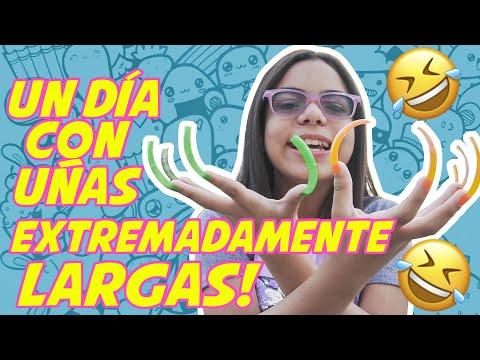 UN DÍA CON UÑAS EXTREMADAMENTE LARGAS  - Susy Mouriz