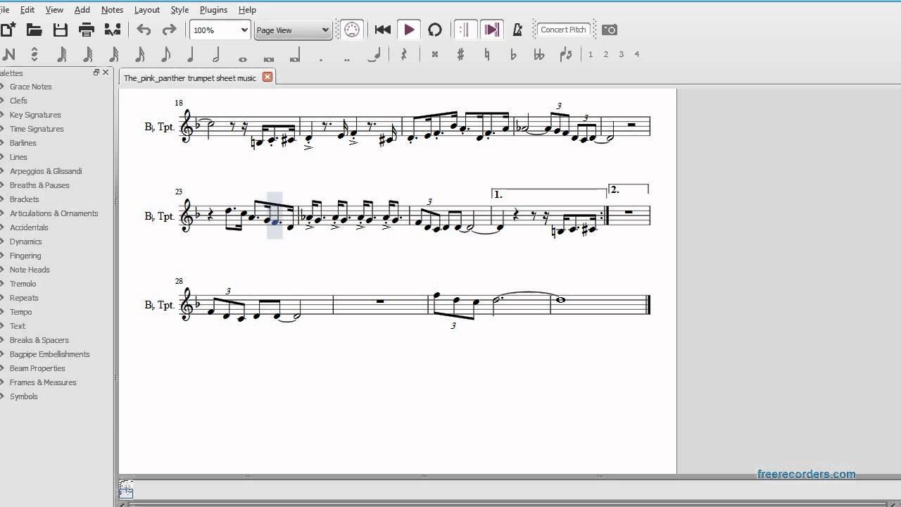 star wars sheet music trumpet
